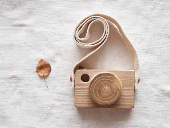 Holz Spielzeug Kamera / Holz Spielzeug Kamera / Hölzerne Kamera
