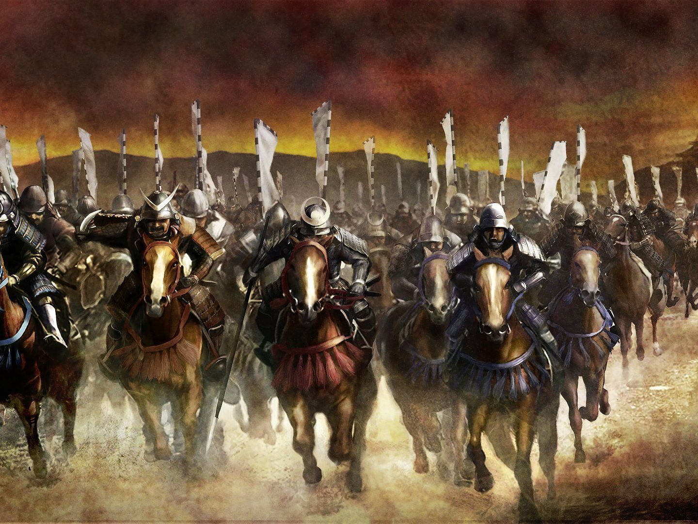 Charge of the Samurais, Warring States in Japan | Japanese