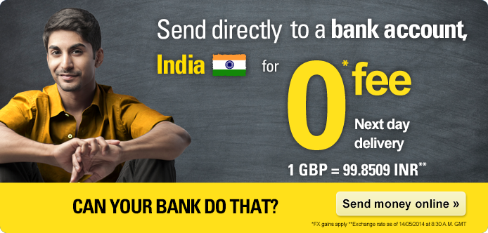 You Can Send Money From Uk To India Using Various Ways Such As Azimo International