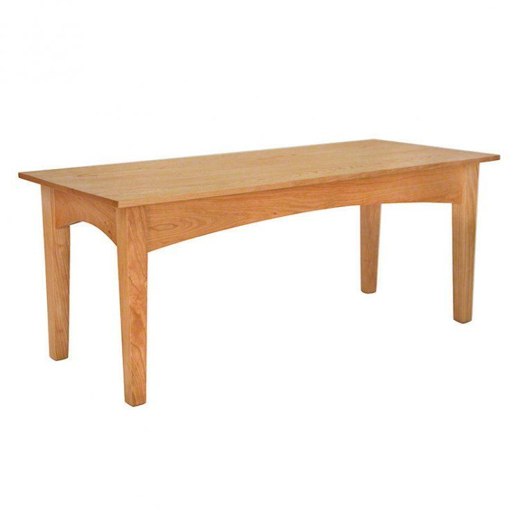 American Shaker Coffee Table Available At Vermont Woods Studios