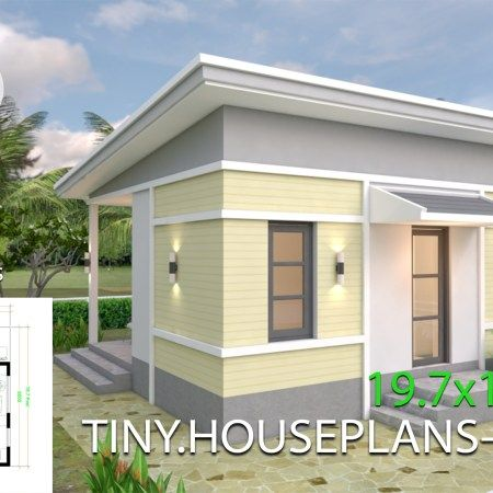 Small Home Design Plan 5 4x10m With 3 Bedroom Samphoas Plan Home Design Plans House Design Simple House Design