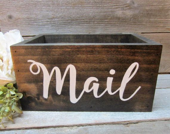 rustic office decor. rustic home decor large mail holder office