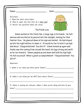 25++ 3rd grade reading comprehension worksheets inference Images