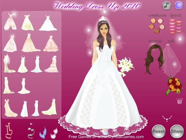 Bride Dress Up Games Bride Dress Up Free Wedding Dress Wedding Dresses For Girls