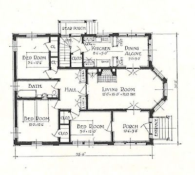 A Really Small House Plan Small House Plan Floor Plans Small House
