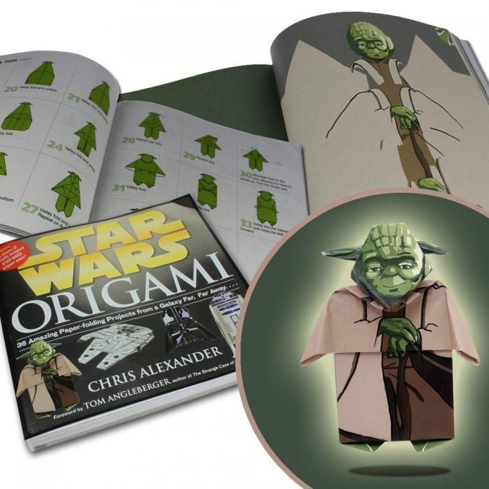 star wars origami bastelbuch geschenke f r kinder. Black Bedroom Furniture Sets. Home Design Ideas