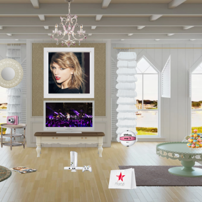 Taylor Swift Inspired created at myWebRoom  Who doesn't love America's sweetheart Taylor Swift?! She's the girl next door, the fun loving, girly girl who everyone wants to be friends with. Grab your guitar, gossip about your current love woes with your buddies, and get in touch with Swifty's country roots! --Found at myWebRoom.com