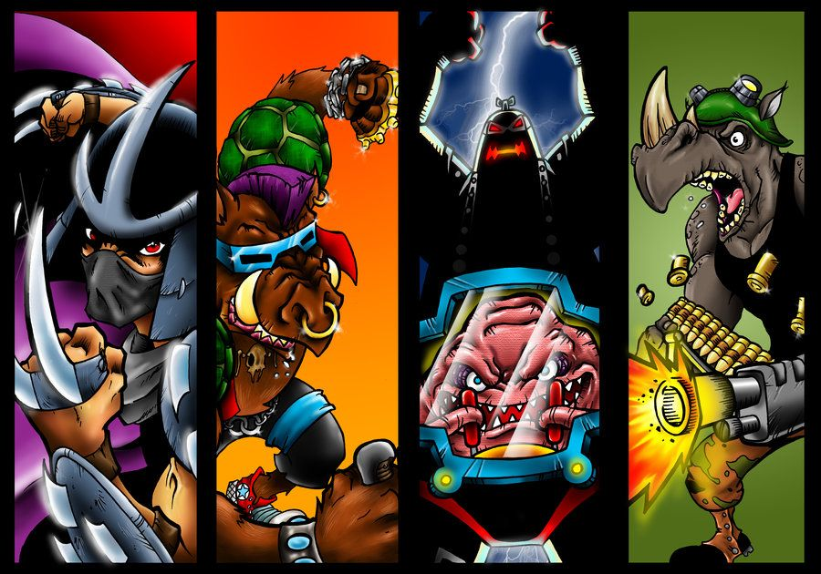 Tmnt Villains By Dreekzilla On Deviantart Tmnt Villains Tmnt Ninja Turtles Art