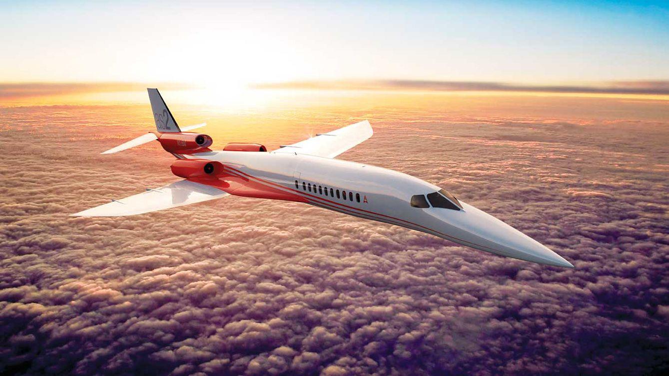 Billionaire's Supersonic Jet Advances With Factory Plans, Airbus
