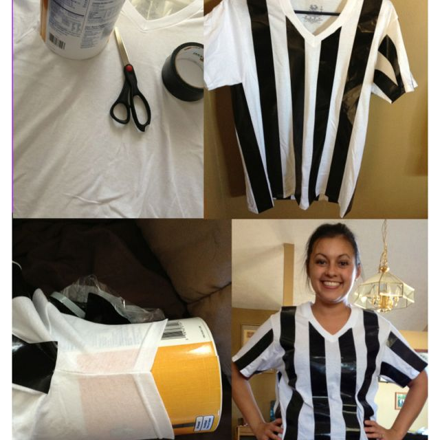 Diy referee shirt crafts that caught my fancy pinterest diy referee shirt solutioingenieria