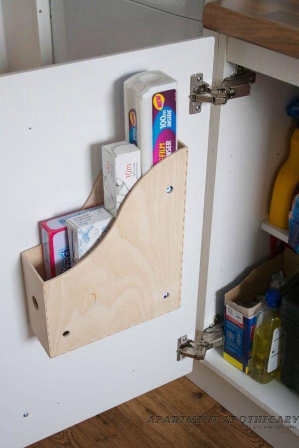 Wax Paper Foil Parchment Zip Lock Bag Holder