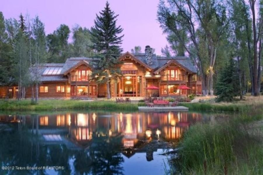 Wyoming In 2020 Luxury Real Estate Ranch Homes For Sale Ranch House