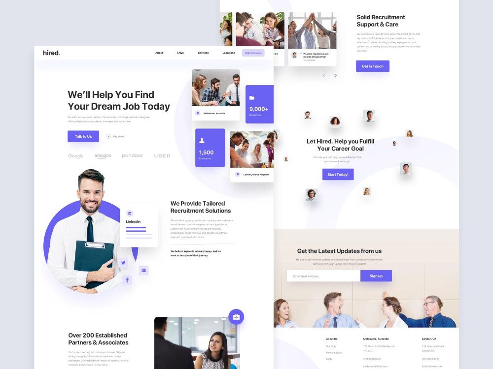 Recruitment Agency Landing Full Page Recruitment Agencies Recruitment Agency