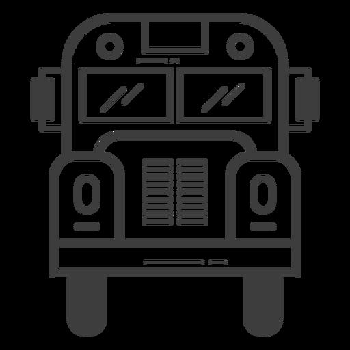 School Bus Front View Stroke Ad Spon Affiliate Bus Stroke View School School Bus Business Card Design Creative Bus