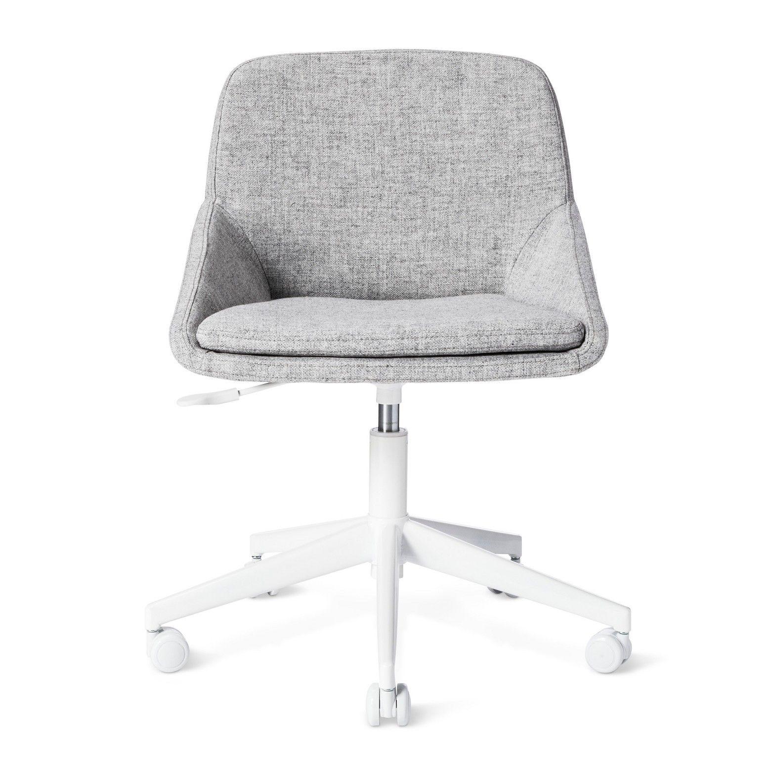 Desk Chair Gray Modern by Dwell Magazine