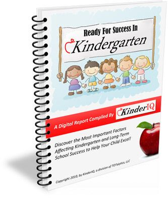 Free Kindergarten Readiness Test KinderIQ Homeschooling