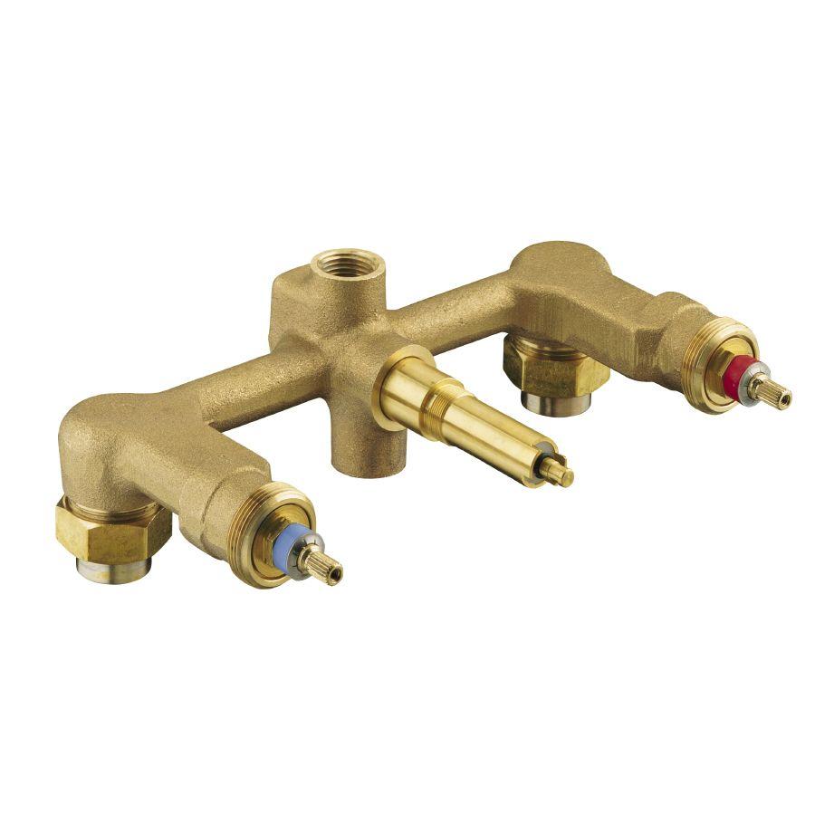 Kohler 8 In L 1 2 In Brass Wall Faucet Valve 303 K Na In 2020