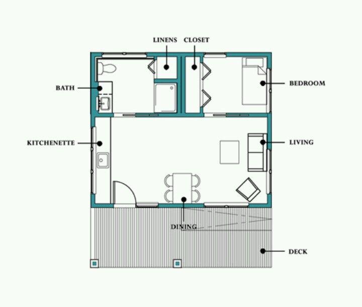 490 Sq Ft Cottage Style House Plans Cottage House Plans Floor Plans