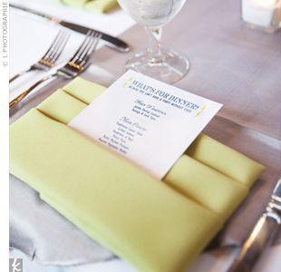 menu napkin folds for weddings - Yahoo Search Results   Wedding ...