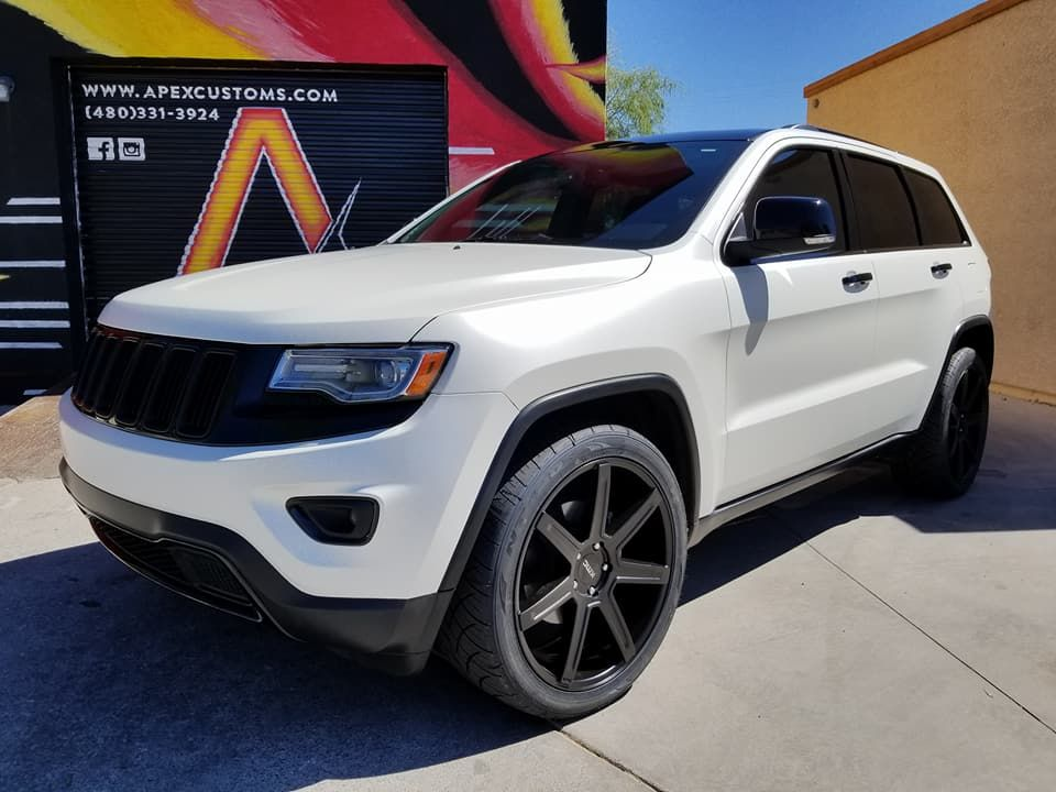 Jeep Grand Cherokee Limited Avery Dennison Satin Pearl White 3m
