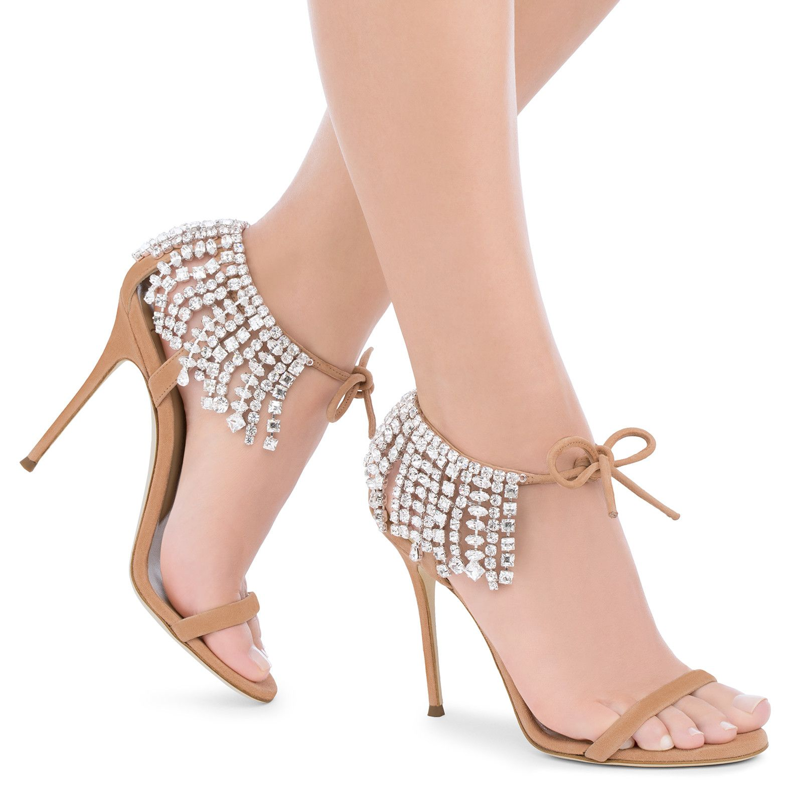 2df19a54a77a Carrie Crystal - Sandals - Pink