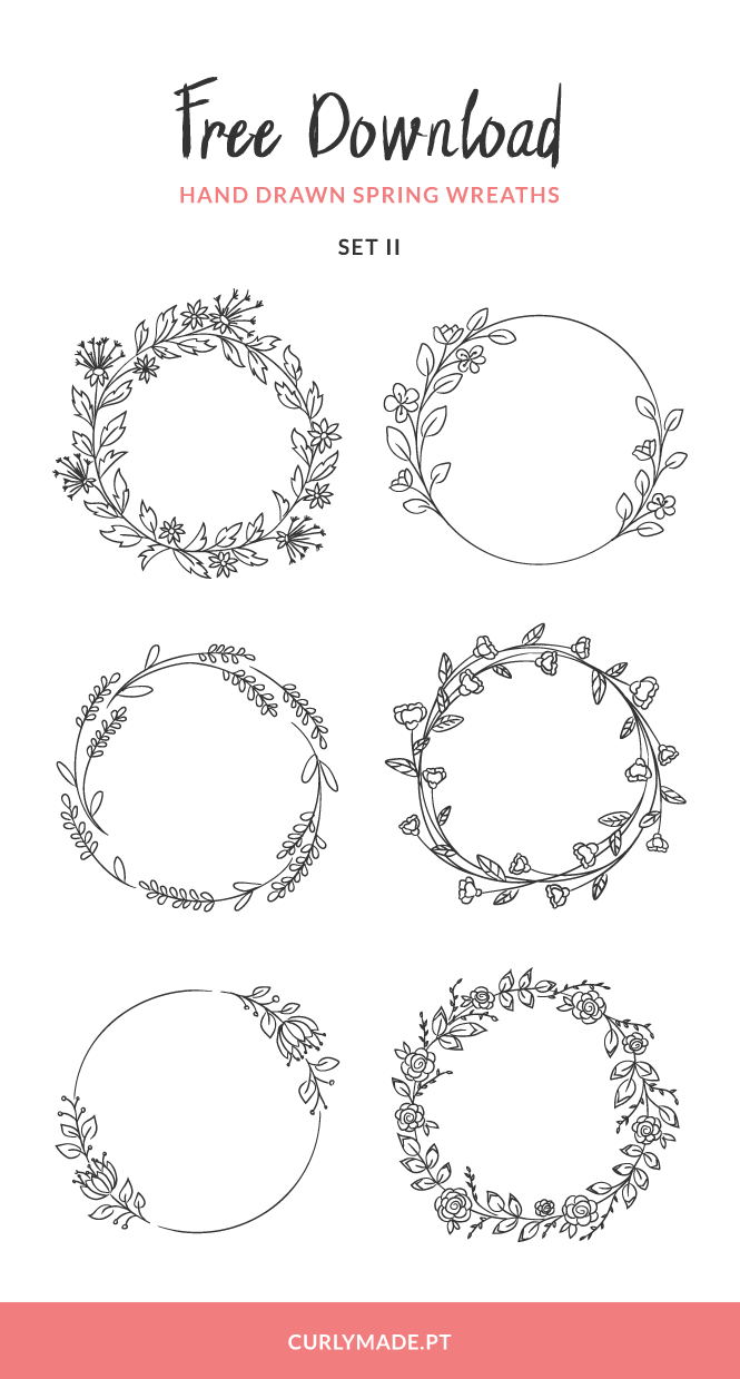 Floral Wreath Svg Free
