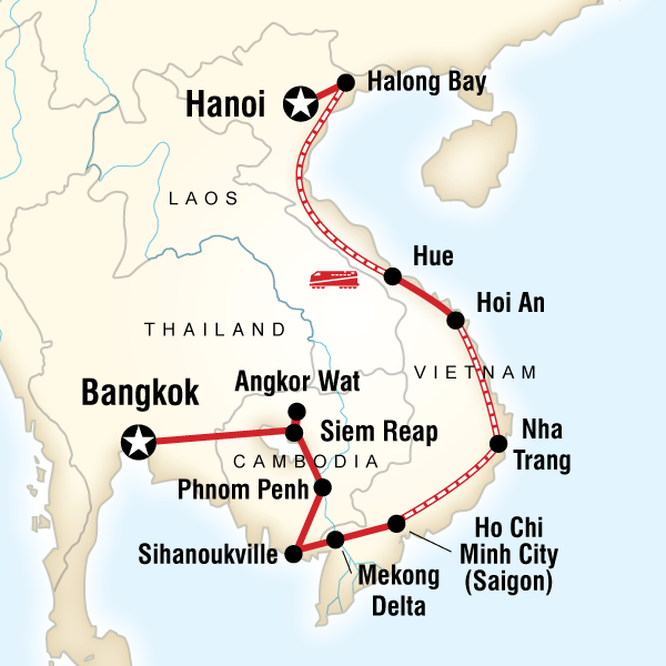 Cambodia Vietnam On A Shoestring In Southeast Asia Lonely - Japan map lonely planet