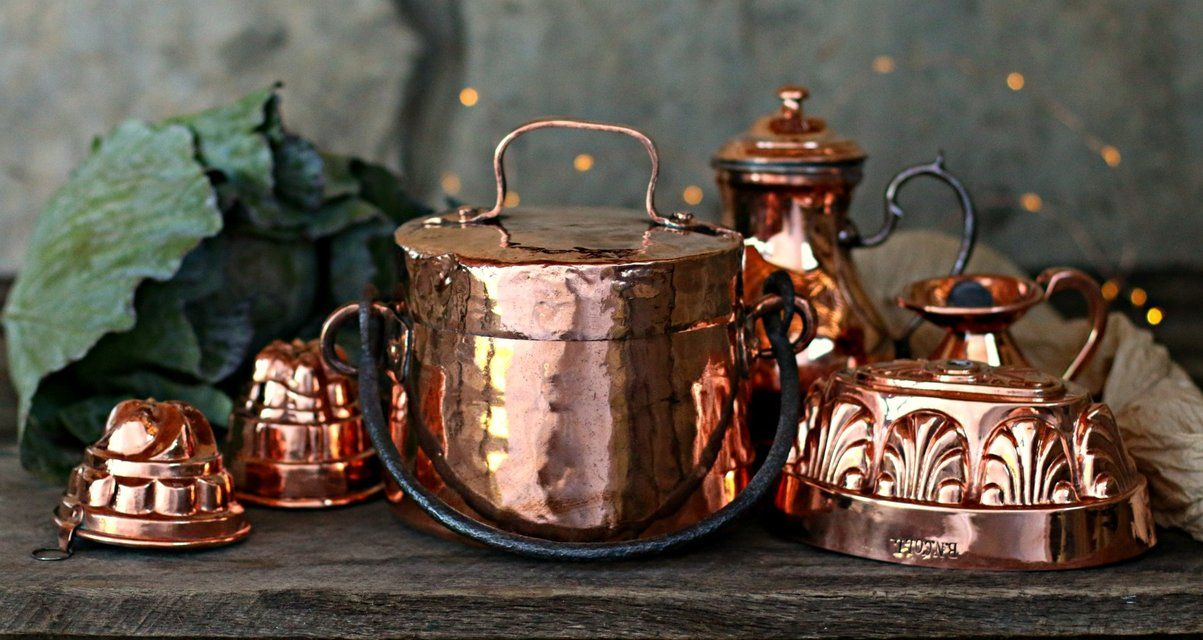 Vintage European Copper For The Old World Home Old World Kitchen By Polder S Old World Market Virginia Usa In 2020 Old World Kitchens Kitchen Utensils