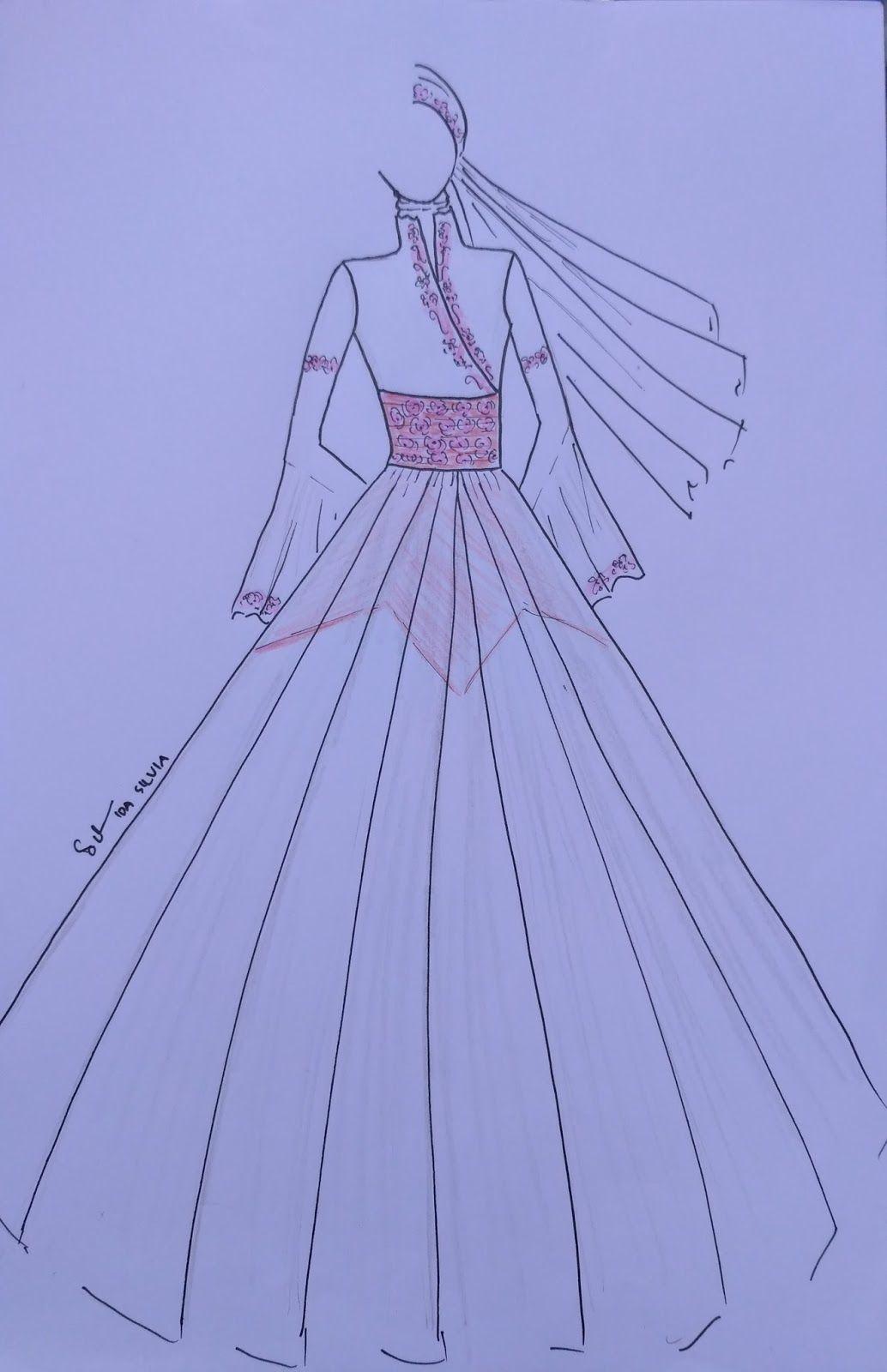 11+ Best Desain baju gamis images in 11  muslimah dress, hijab