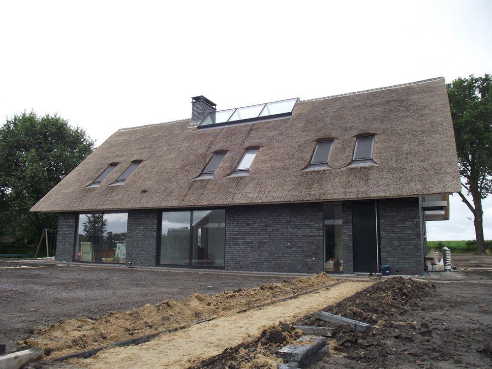 Modern landhuis lutten pr8 achitecten huizen schuur huizen