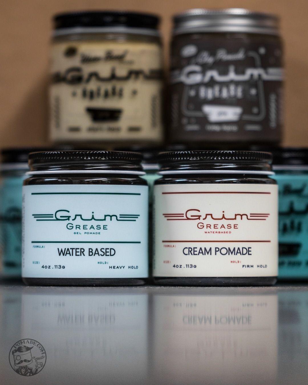 Grim Grease Cream Pomade Water Based Cream Grease Cream