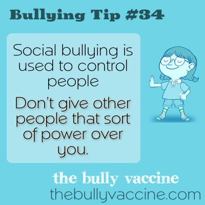Bullying tip #34: How to take your power back from a bully  - video lesson