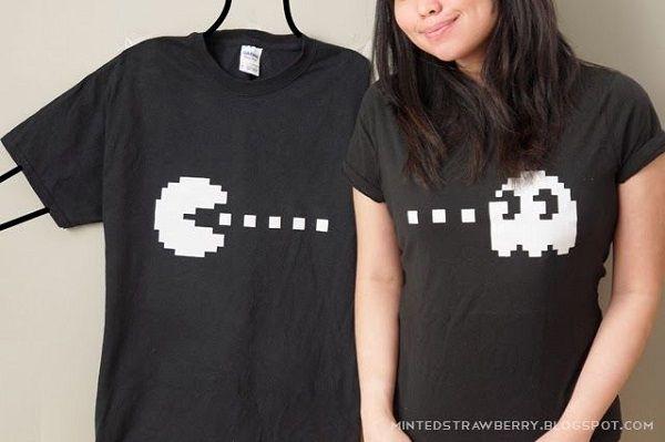 d36854933a8a2 20 camisetas creativas para parejas que derretirán tu corazón.  camisetas   amor  creatividad  diseño