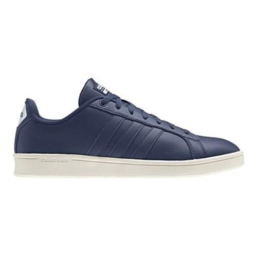 Men's adidas NEO Cloudfoam Advantage Court Shoe Mystery Blue/Mystery  Blue/Ftwr