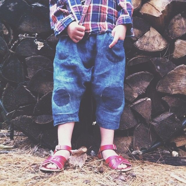 How gorgeous are these kids trousers? Need some for me!