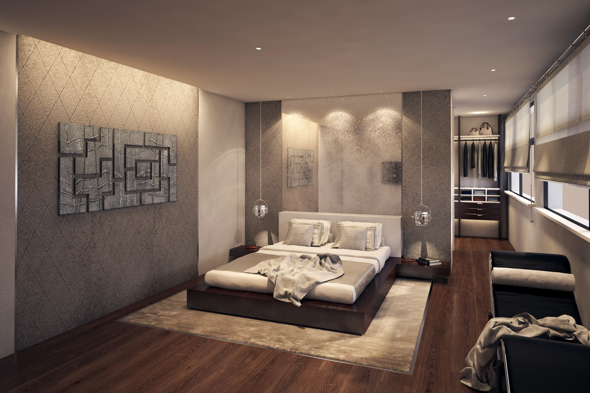 Bachelor Bedroom Ideas. 1 61 London  luxury bachelor bedroom design with walk in wardrobe antique mirror bespoke