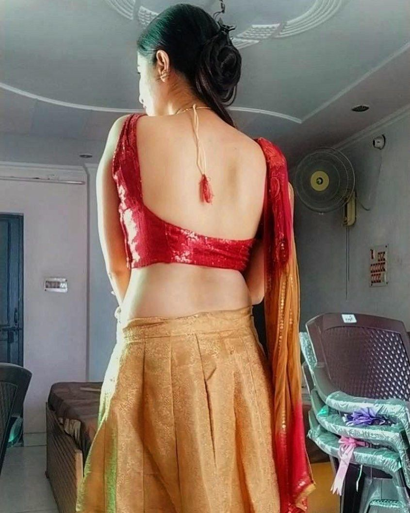 "Saree Seduction on Instagram: ""👑 @drshivani_bhandari 👑 ——————————  www.sareeseduction.com #saree #sari #ba… 