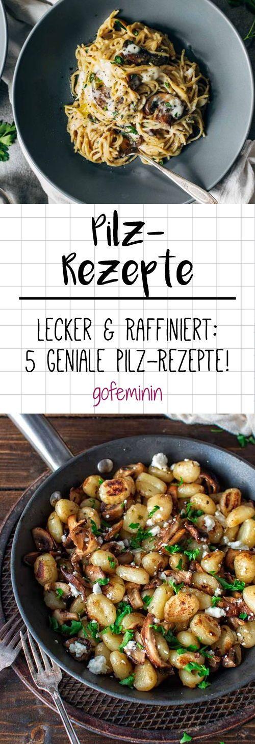 Lecker & raffiniert: Wir feiern den Herbst mit 5 genussvollen Pilz-Rezepten! #kochenundbacken