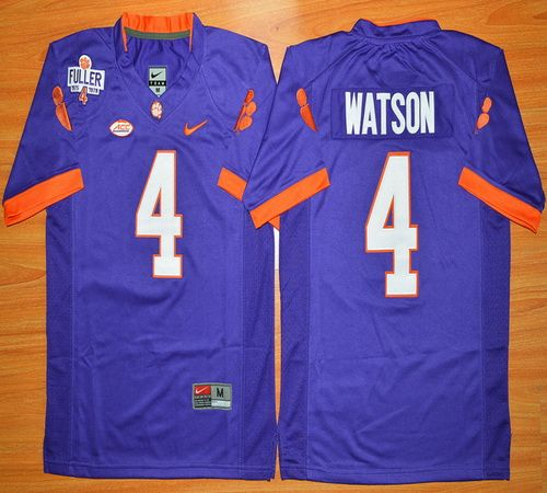 brand new 0f39d b93f5 Youth Clemson Tigers DeShaun Watson 4 College Football ...
