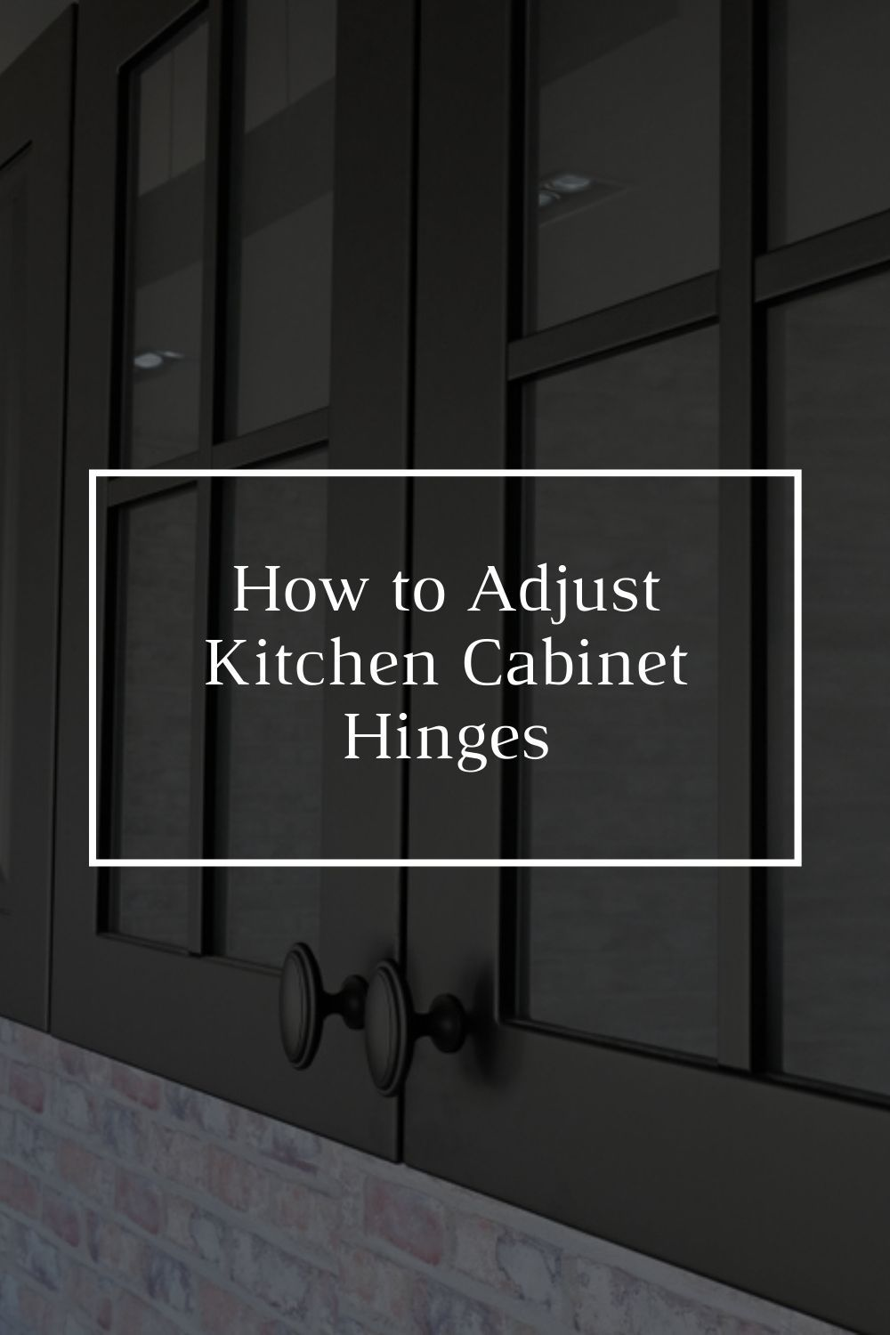 How To Adjust Kitchen Cabinet Hinges In 2020 Kitchen Cabinets Installing Laminate Countertops Painting Kitchen Countertops