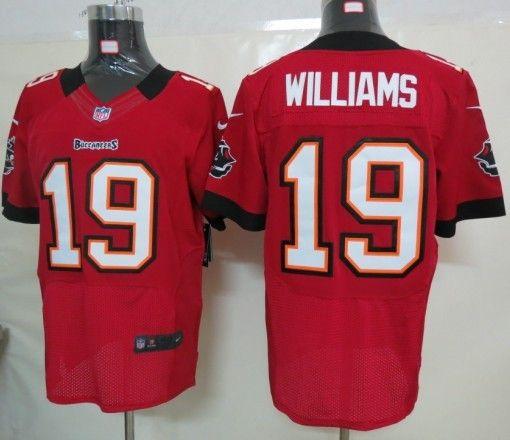 Nike Tampa Bay Buccaneers 19 Williams Red Elite Jersey Tampa Bay Buccaneers Nfl Tampa