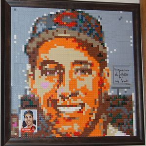 Great Summer Idea Build Your Own Baseball Card Mosaic