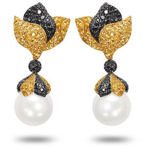 De Grisogono Earrings Designer Jewelry South Sea Pearl Ear