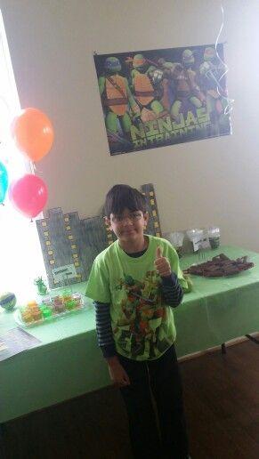 Ninja turtle decoration ideas  ( Happy boy )