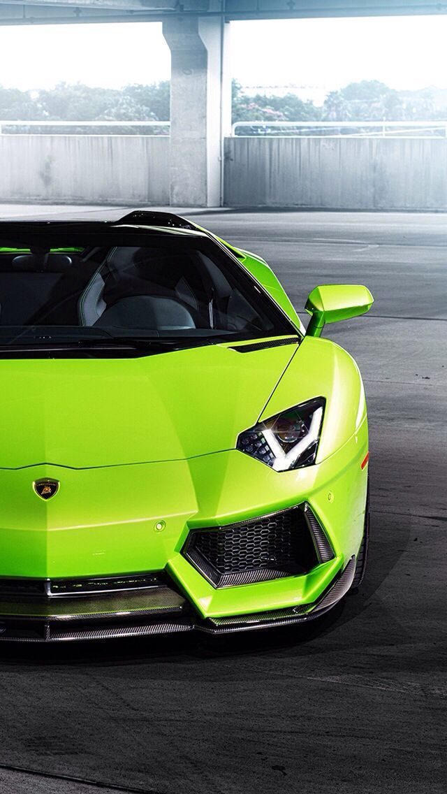 Ultra Hd Green Lamborghini Aventador Ultra Hd Cars Wallpapers