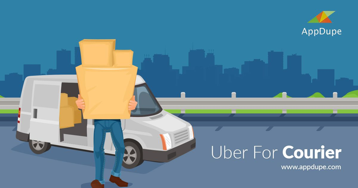 An Uber for courier app can be perfect for your delivery