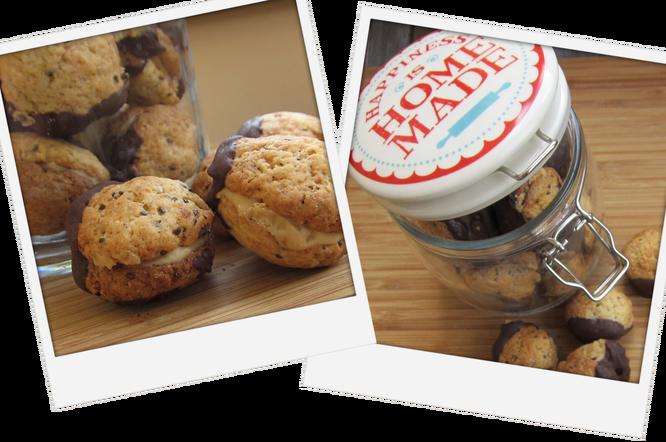 vegane Chia-Cookies