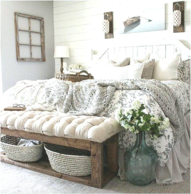 85 Charming Rustic Bedroom Ideas And Designs 4 In 2020: 65 Charmante Rustikale Schlafzimmer Ideen Und Designs