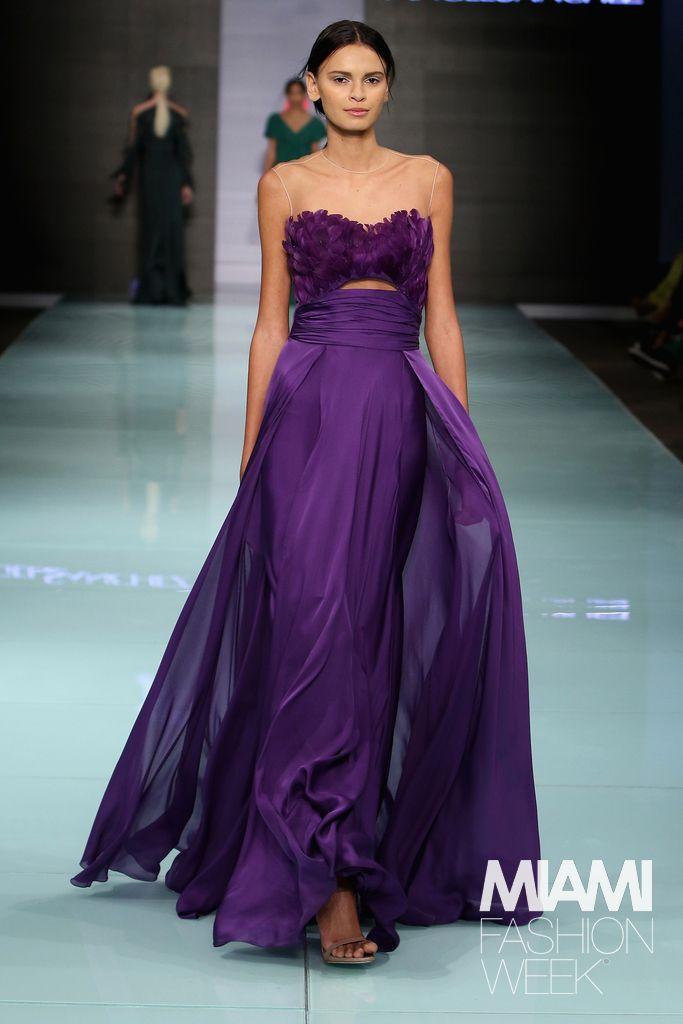Angel Sanchez Runway - Miami Fashion Week#rexfabrics ...