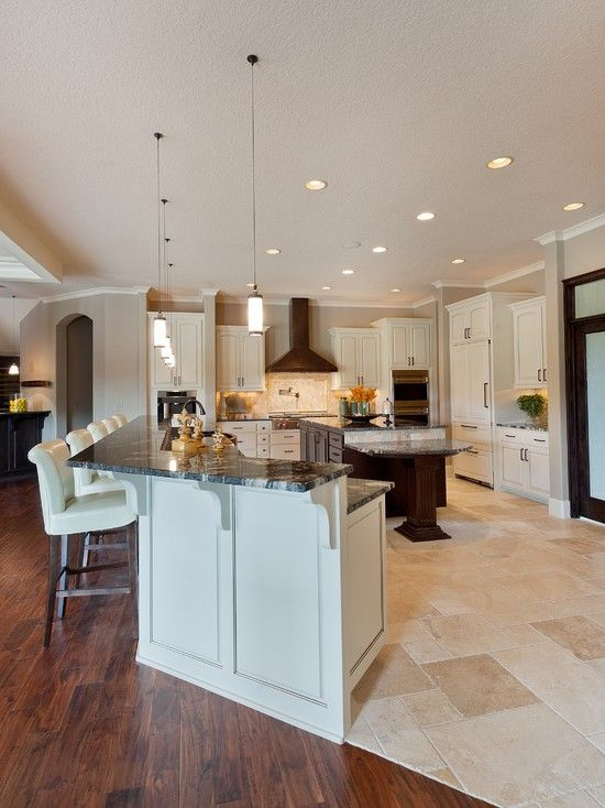 wood and tile floor design pictures remodel decor and ideas page 11 - Tile Floor Ideas For Kitchen